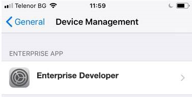 Device_Management_Enterprise_developer
